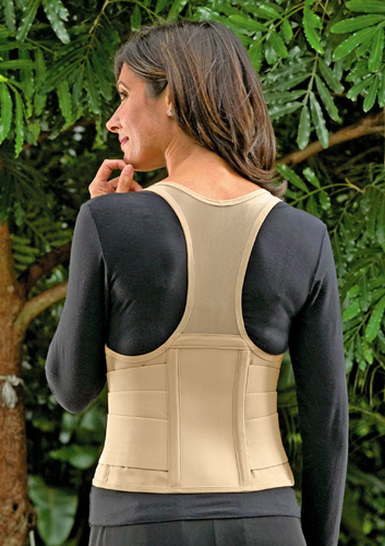 Cincher Female Back Support Small Tan