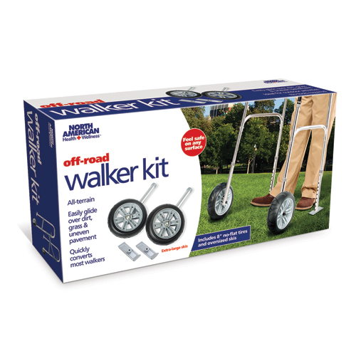 8 Walker Wheels and Skis Kit for Rugged Terrain