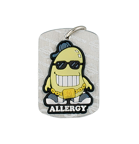 AllerMates Dog Tags Soy Cool Soy Allergy