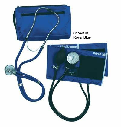 Aneroid Blood Pressure Kit w/Stethoscope