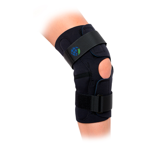 Wrap Around Hinged Knee Brace 3XL Knee Circum 21-24
