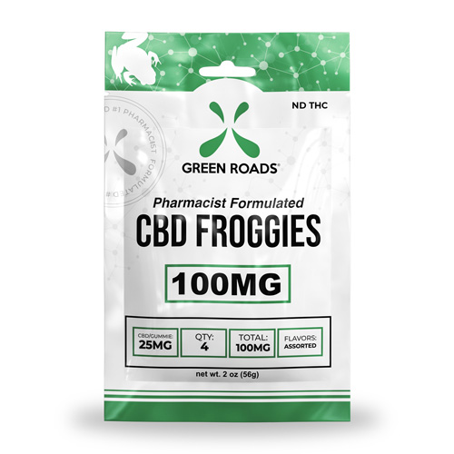 CBD Froggies 100 mg Bx/10 Edibles Bx/10