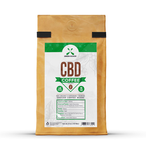CBD Coffee 8 oz. by Green Roads