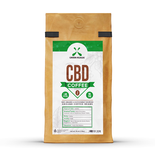 CBD Coffee 16 oz. by Green Roads