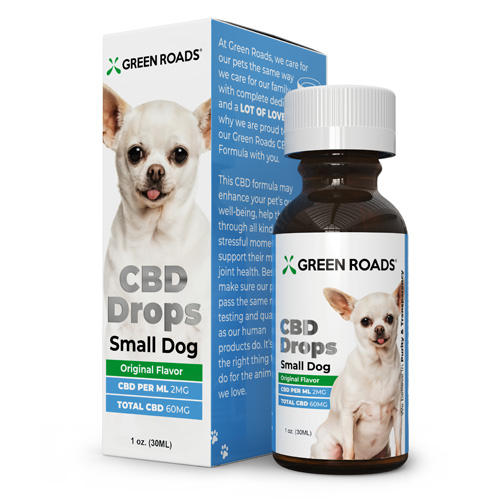 CBD Small Dog Formula 60mg 30 ml Size (each)
