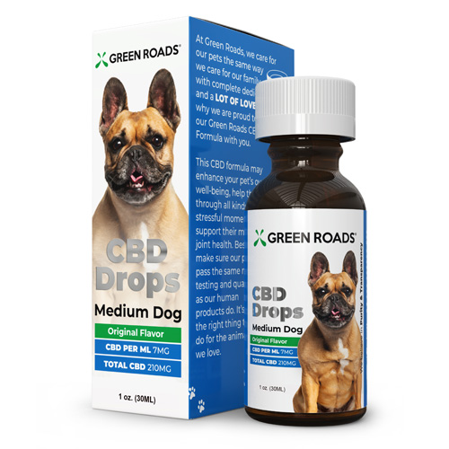 CBD Medium Dog Formula 210mg 30 ml Size (each)