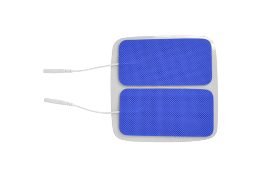 Reusable Electrodes Pack/4 2 x4 Rectangle Blue Jay Brand