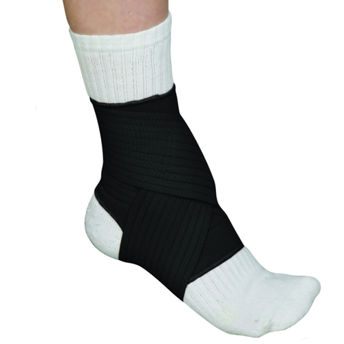 Blue Jay Adjustable Ankle Wrap Black Medium 8 -9