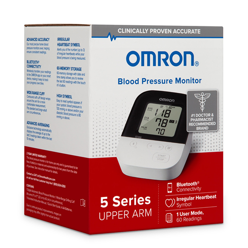 5 Series Upper Arm Blood Pressure Unit